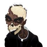 Ritratto dello zombie Fotografia Stock Libera da Diritti
