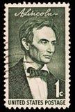 Ritratto di Abraham Lincoln fotografie stock