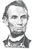 Ritratto di Abraham Lincoln (vettore) Royalty Illustrazione gratis