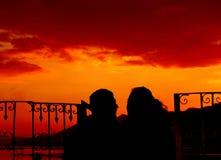 Ritratto di amore Fotografie Stock