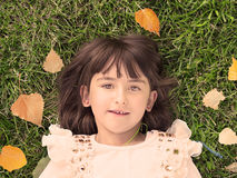 Ritratto di autunno Fotografia Stock