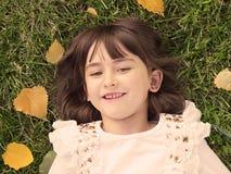 Ritratto di autunno Immagini Stock Libere da Diritti