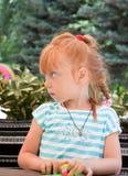 Ritratto di bella bambina Fotografie Stock