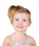 Ritratto di bella bambina Immagini Stock Libere da Diritti