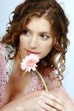 Ritratto di bella donna immagini stock