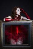 Ritratto di bella donna Fotografie Stock