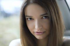 Ritratto di bella donna Immagine Stock Libera da Diritti
