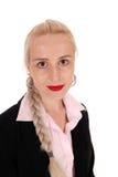 Ritratto di bella donna bionda immagini stock libere da diritti