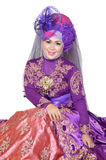 Ritratto di bella donna musulmana Immagine Stock