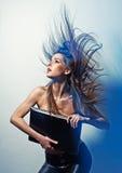 Ritratto di bella donna piacevole fotografia stock libera da diritti