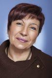 Ritratto di bella donna senior Immagine Stock Libera da Diritti