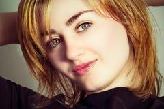 Ritratto di bella donna sexy Fotografia Stock Libera da Diritti