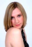 Ritratto di bella femmina bionda Fotografia Stock Libera da Diritti