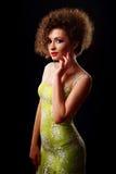 Ritratto di bella giovane donna Immagini Stock
