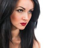 Ritratto di bella giovane donna sexy Immagini Stock Libere da Diritti