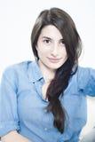 Ritratto di bella ragazza fotografie stock libere da diritti