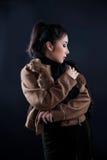 Ritratto di bella ragazza asiatica Fotografia Stock Libera da Diritti