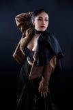 Ritratto di bella ragazza asiatica Fotografie Stock Libere da Diritti