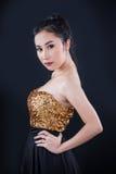 Ritratto di bella ragazza asiatica Immagine Stock Libera da Diritti