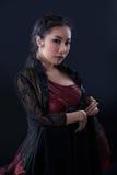 Ritratto di bella ragazza asiatica Immagini Stock