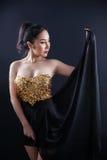 Ritratto di bella ragazza asiatica Fotografie Stock