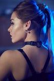 Ritratto di bella ragazza bionda sexy Fotografie Stock Libere da Diritti