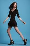 Ritratto di bella ragazza del brunette fotografie stock libere da diritti