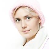 Ritratto di bella ragazza del whitehair Fotografia Stock Libera da Diritti