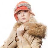 Ritratto di bella ragazza del whitehair Fotografie Stock Libere da Diritti