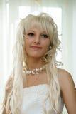 Ritratto di bella sposa Fotografie Stock Libere da Diritti