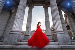 Ritratto di belle nozze della sposa fotografie stock