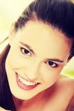 Ritratto di bellezza Immagine Stock