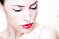 Ritratto di bellezza Fotografia Stock Libera da Diritti
