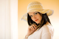 Ritratto di bellezza Fotografia Stock
