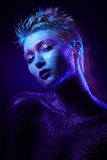 Ritratto di bellezza della donna Immagine Stock