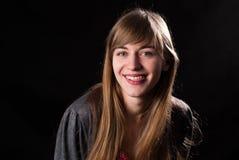 Ritratto di bellezza della giovane donna Fotografie Stock
