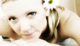 Ritratto di bellezza di Wellness fotografie stock