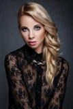 Ritratto di bello blonde Fotografia Stock