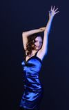 Ritratto di bello dancing Fotografia Stock