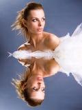 Ritratto di bello modello di modo Fotografia Stock