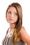 Ritratto di bello sorridere dell'adolescente Fotografie Stock