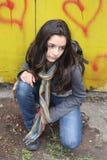Ritratto di bello teenager Immagini Stock