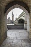 Ritratto di Big Ben immagine stock