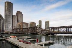 Ritratto di Boston del centro Immagine Stock