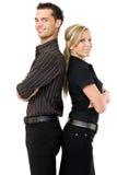 Ritratto di businessteam felice fotografia stock libera da diritti