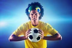 Ritratto di calcio Fotografia Stock