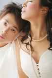 Ritratto di cerimonia nuziale Fotografie Stock