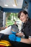 Ritratto di EMT Immagine Stock