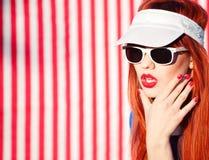 Ritratto di estate Fotografia Stock