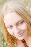 Ritratto di estate della ragazza Fotografie Stock Libere da Diritti